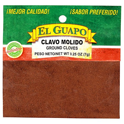 El Guapo Cloves Ground - 0.25 Oz