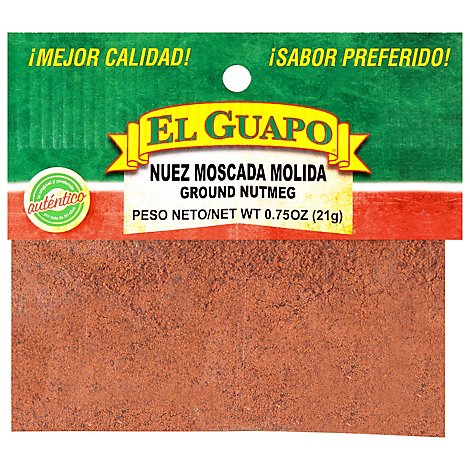 El Guapo Nutmeg Ground - 0.75 Oz