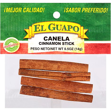 El Guapo Cinnamon Sticks Whole - 0.5 Oz
