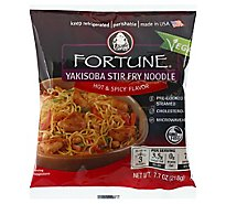 Fortune Yakisoba Noodles Hot & Spicy Stir-Fry Prepacked - 7.7 Oz