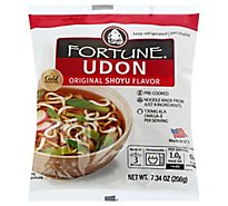 Fortune Noodles Udon Original Prepacked - 7 Oz