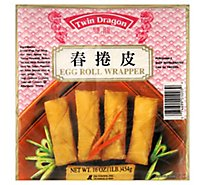 Twin Dragon Wrappers Egg Roll - 16 Oz