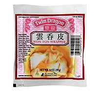 Twin Dragon Won Ton Wrappers - 14 Oz