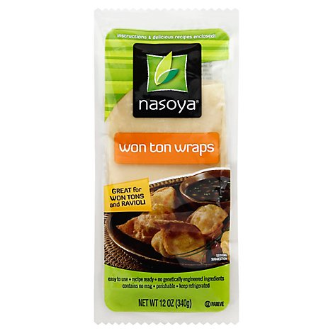 Nasoya Won Ton Wraps - 12 Oz