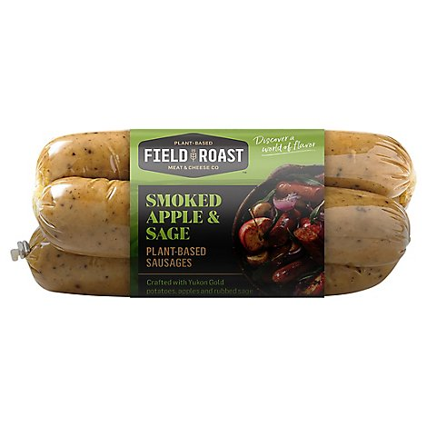 Grain Meat Vegetarian Sausage Smoked Apple Sage - 12.9 Oz