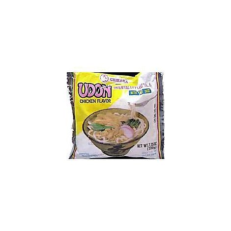 Shirakiku Noodle Udon Chicken Pre-Packaged - 7.25 Oz