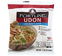 Fortune JSL Udon Chicken Prepacked - 7 Oz