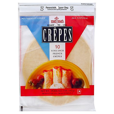 Melissas Crepes 10 Count - 5 Oz
