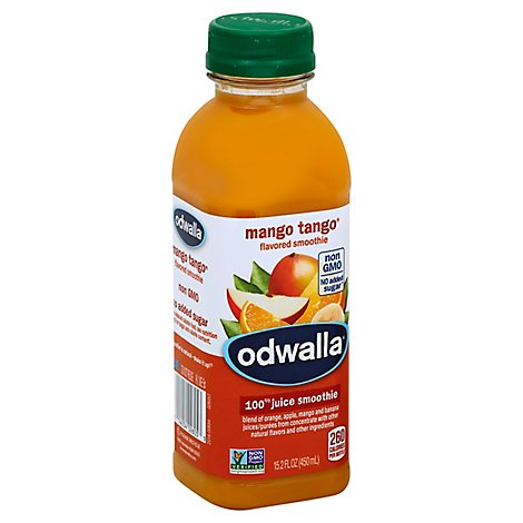 Odwalla Flavored Smoothie Blend Mango Tango - 15.2 Fl. Oz.