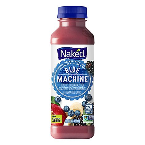 Naked Juice Smoothie Boosted Blue Machine - 15.2 Fl. Oz.