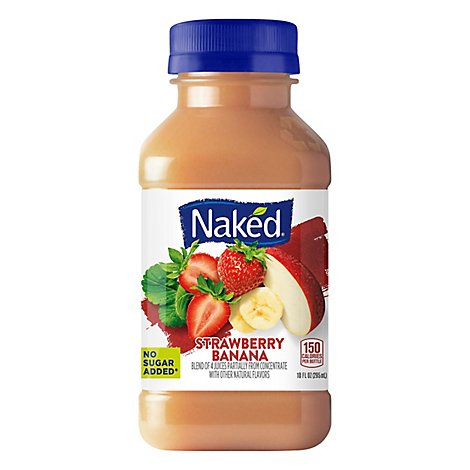 Naked Juice Strawberry Banana - 10 Fl. Oz.
