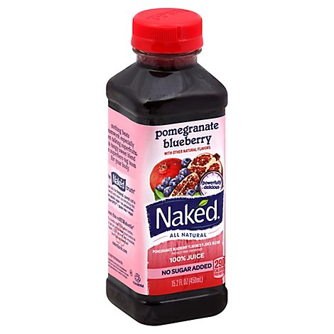Naked Juice Pomegranate Blueberry - 15.2 Fl. Oz.