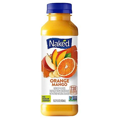 Naked Pure Fruit Mighty Mango Juice Smoothie (15.2 fl oz