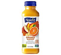 Naked Juice Smoothie Pure Fruit Orange Mango - 15.2 Fl. Oz.