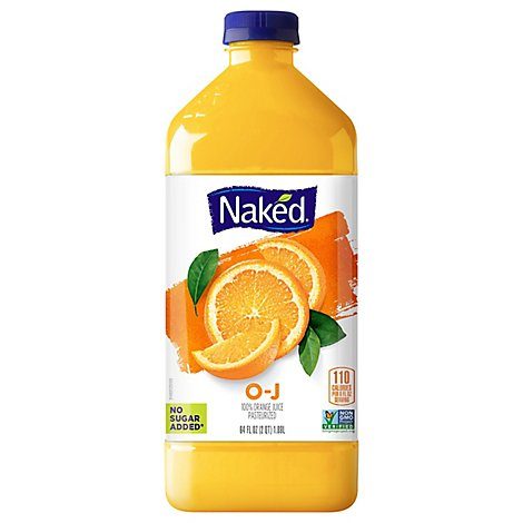Naked Juice Pasteurized Orange - 64 Fl. Oz.