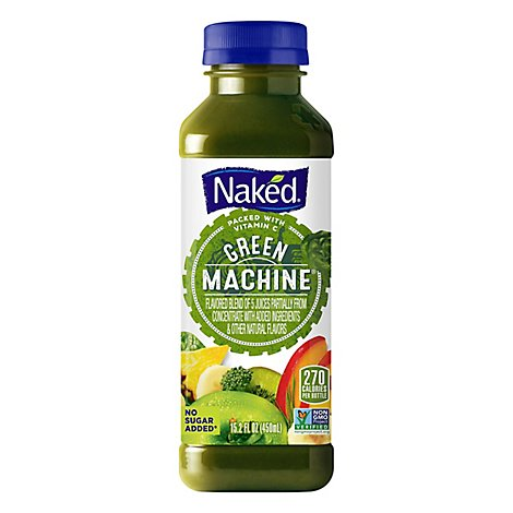Naked Juice Smoothie Boosted Green Machine - 15.2 Fl. Oz.