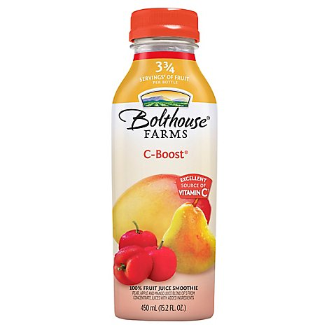 Bolthouse Farms 100% Fruit Juice Smoothie C-Boost - 15.2 Fl. Oz.