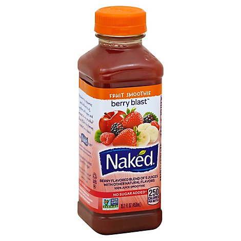 Naked Juice Smoothie Pure Fruit Berry Blast - 15.2 Fl. Oz.