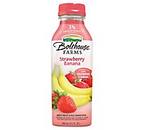 Bolthouse Farms 100% Fruit Juice Smoothie Strawberry Banana - 15.2 Fl. Oz.