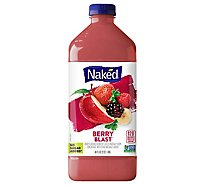 Naked Juice Smoothie Pure Fruit Berry Blast - 64 Fl. Oz.