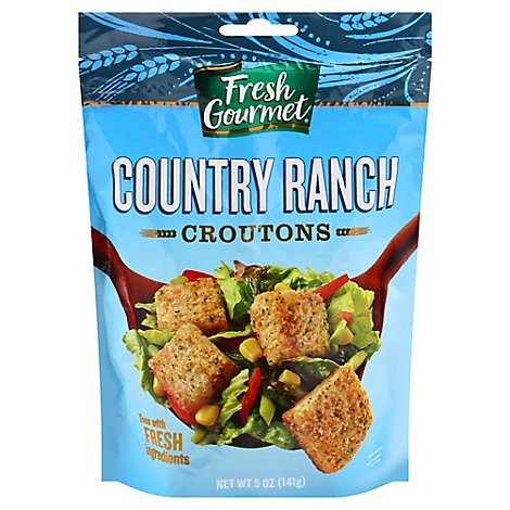 Fresh Gourmet Croutons Premium Country Ranch - 5 Oz