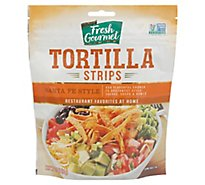Fresh Gourmet Crunchy Toppings Tortilla Strips Santa Fe Style - 3.5 Oz
