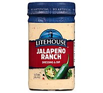 Litehouse Dressing & Dip Ranch Jalapeno - 13 Fl. Oz.