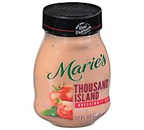 Maries Salad Dressing & Dip Real Premium Non Gmo Oil Thousand Island - 12 Fl. Oz.
