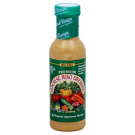 Red Shell Salad Dressing Miso - 12 Fl. Oz.