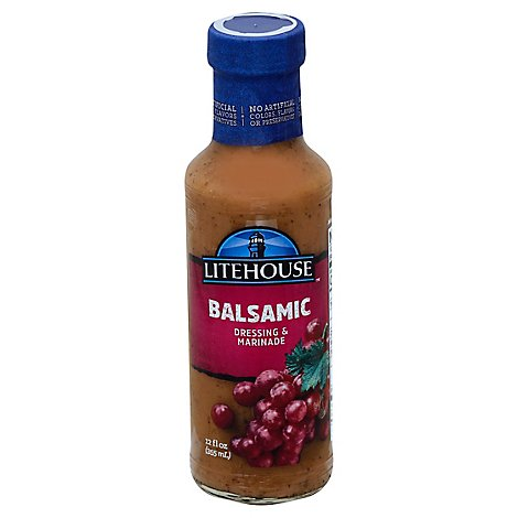 Litehouse Dressing & Marinade Balsamic - 12 Fl. Oz.