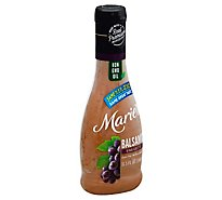 Maries Vinaigrette Real Premium Non Gmo Oil Balsamic - 11.5 Fl. Oz.