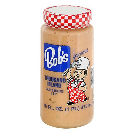 Bobs Famous Salad Dressing Thousand Island - 16 Fl. Oz.