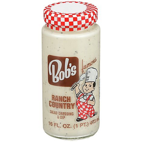 Bobs Famous Salad Dressing Ranch Country - 16 Fl. Oz.