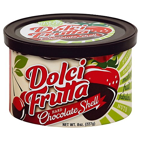 saco Dolci Frutta Hard Chocolate Shell - 8 Oz