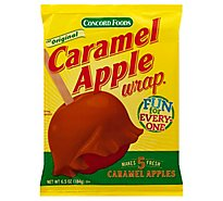 Concord Foods Wrap Caramel Apple - 6.5 Oz
