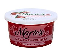 Maries Glaze Strawberry - 14 Oz