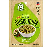 McCormick Produce Partners Great Guacamole Mix Spicy - 1 Oz