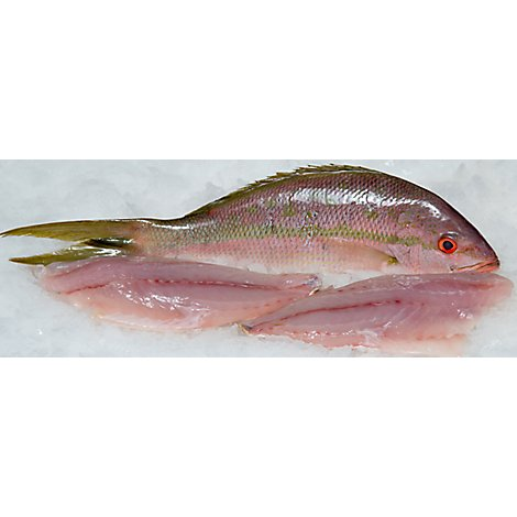 Seafood Counter Fish Snapper Red Whole Dressed Fresh - 1.00 LB