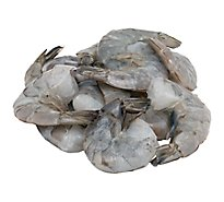 Seafood Counter Shrimp Raw 21 - 25 Count Shell On Frozen To Defrosted - 0.75 LB