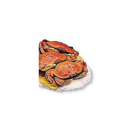 Seafood Counter Crab Dungeness Whole Cooked Fresh - 2.00 LB (Subject To Availability)