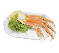 Seafood Counter Crab Snow Cluster Alaskan Wild Cooked Frozen - 1.25 LB
