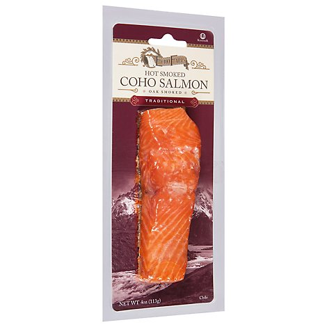 Echo Falls Salmon Smoked Alderwood Smoked Traditional - 4 Oz