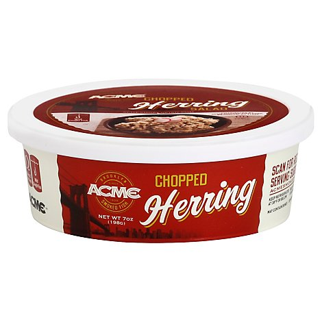 Acme Herring Smoked Chopped - 3 Oz