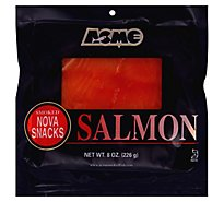 Acme Salmon Snacks Smoked - 8 Oz