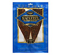 Ducktrap Fillet Wild Mackerel Smoked Peppered - 7 Oz