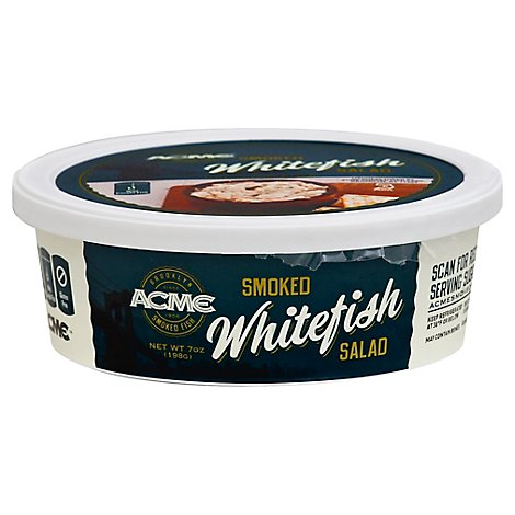 Acme Salad Smoked Whitefish - 7 Oz
