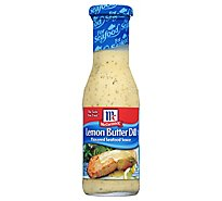 McCormick Seafood Sauce Lemon Butter Oil Flavored - 8.4 Oz