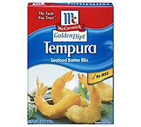 McCormick Golden Dipt Seafood Batter Mix Tempura - 8 Oz