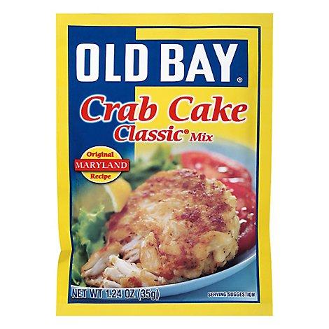 OLD BAY Mix Classic Crab Cake - 1.24 Oz