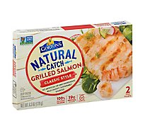 Gortons Fish Fillets Grilled Salmon Classic Grilled 2 Count - 6.3 Oz